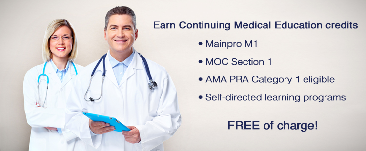 Accredited online continuing medical education