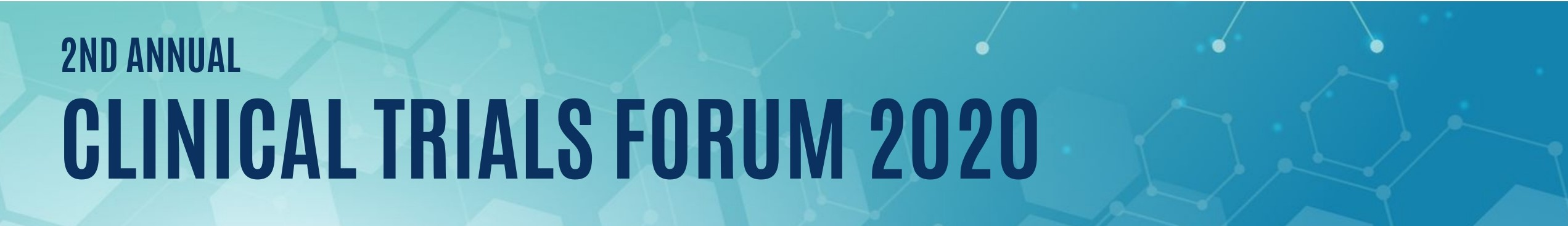 Clinical Trials Forum 2020 banner